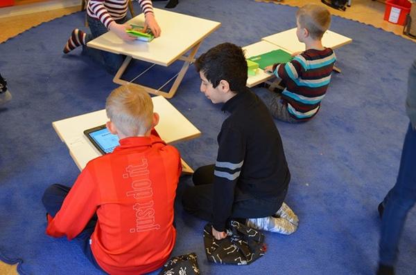 スウェーデンの小学校。